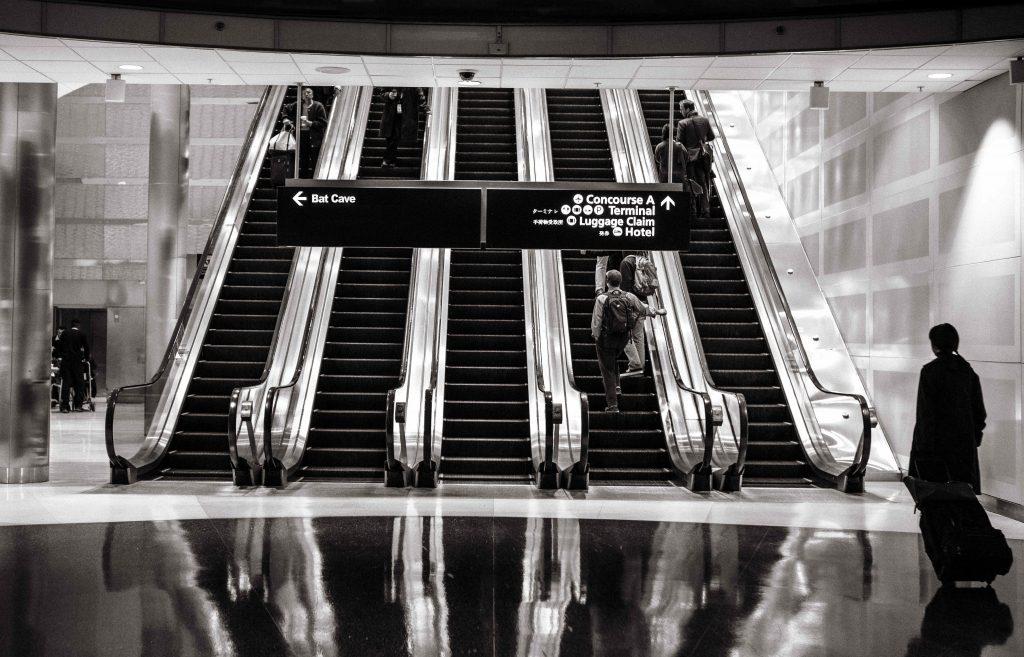 aerodrom stepenice
